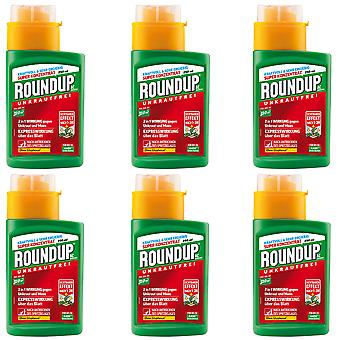 Sparset: 6 x ROUNDUP® AC concentrate, 250 ml