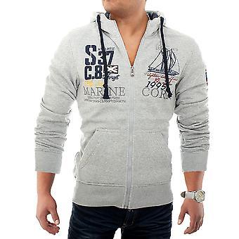 Pullover hettegenser glidelås Sweatshirt svette jakke skjorte hette jakke Norge kjernen