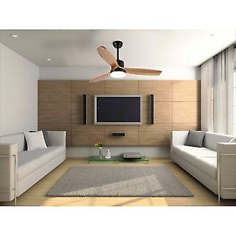 """Ceiling fan Lesna 132cm / 52"""" with LED and remote"""