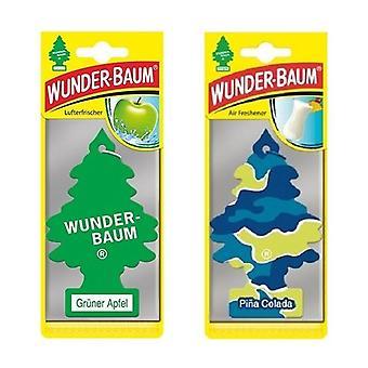 Wunder-Baum Perfumado (Apple + Pina Colada) 2-Pack