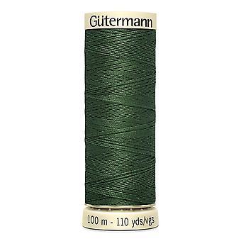 Gutermann sy-alle 100% polyestertråd 100m Hånd- og maskinfarvekode - 561