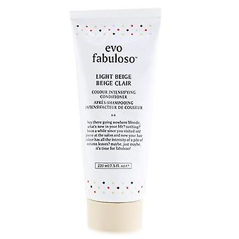 Fabuloso Colour Intensifying Conditioner - # Light Beige - 220ml/7.5oz