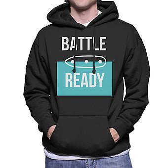 Hasbro Battleship Battle Ready Men's Hooded Sweatshirt