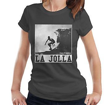 London Banter La Jolla surf mulheres ' s T-shirt