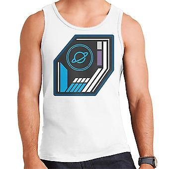 Crystal Maze Basic planet Badge menn ' s vest