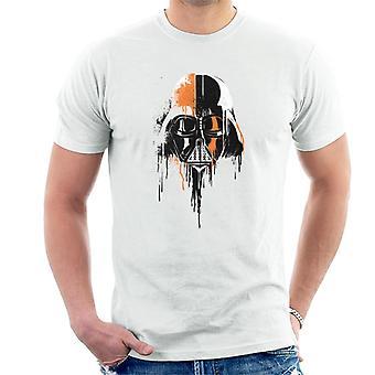 Star Wars Spray Paint Darth Vader Men's Camiseta