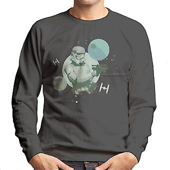 Star Wars Imperial Stormtrooper Ready To Blast Men's Sweatshirt