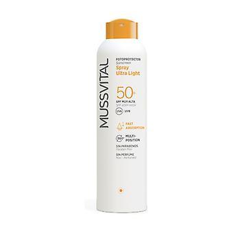 Fotoprotector Spray ultra light 50+ 150 ml