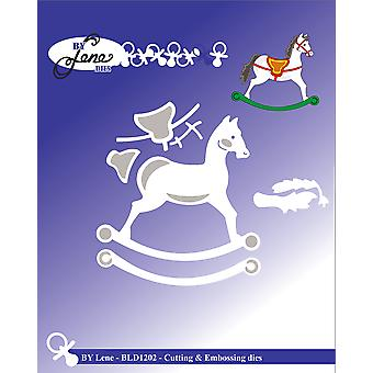 By Lene Rocking Horse Cutting & Embossing Dies