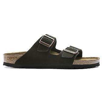 Sandale Birkenstock Arizona Brown Velvet