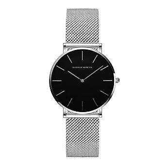 Hannah Martin Ladies Watch - Anologue Movement Mesh Strap for Women - CH36-WYY