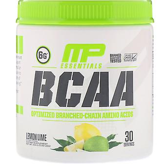 MusclePharm, Essentials, BCAA, Lemon Lime, 0.52 lbs (234 g)