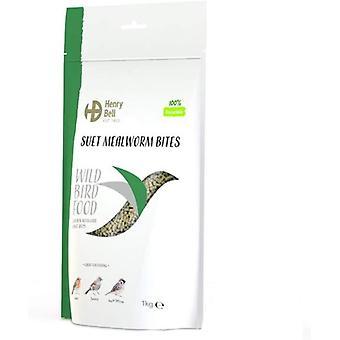 Henry Bell Suet Mealworm Bites - 2kg
