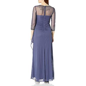 Alex Evenings Women's Long A-Line Sweetheart Neck (Petite and Regular Sizes),...