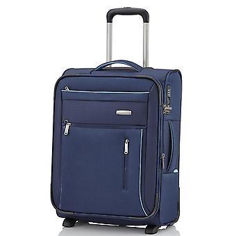 travelite Capri cabin trolley 53 cm erw. 2 Rollos, Azul