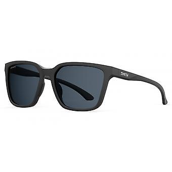 النظارات الشمسية Unisex Shoutout الاستقطاب مات الأسود / الرمادي
