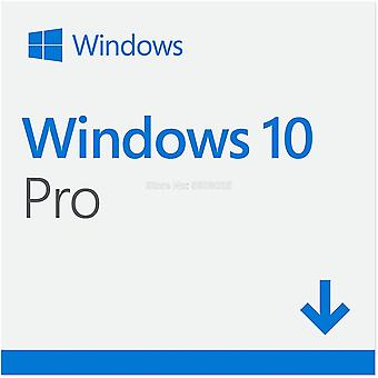 Microsoft Windows 10 Pro 32/64 Bit Product Key Card Universal Version Computer Software