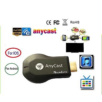 128m Anycast M2 Miracast Wireless Dlna Airplay Mirror Hdmi Tv Stick Wifi Display Dongle Receptor Pentru Ios & Android