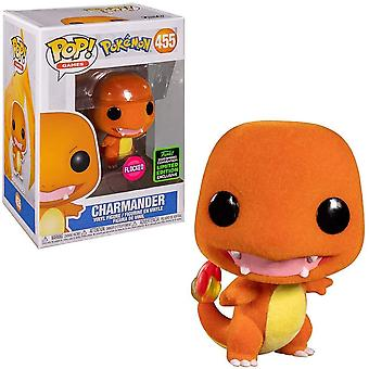 Pokemon Charmander Flocked ECCC 2020 Exclusive Pop! Vinyyli
