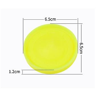 Mini Beach Flying Disk pour les sports de plein air - Silicone Disc Decompression Toys To