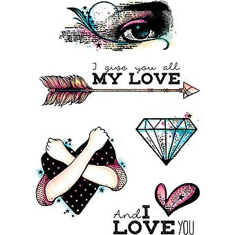 Carabelle Studio Cling Stamp A6 (All My Love)