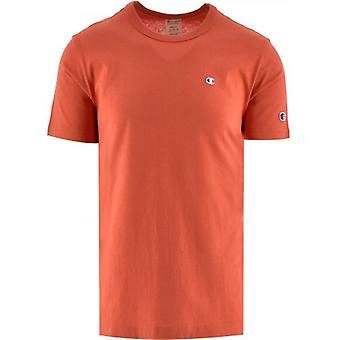 Champion Orange Crew Neck T Shirt