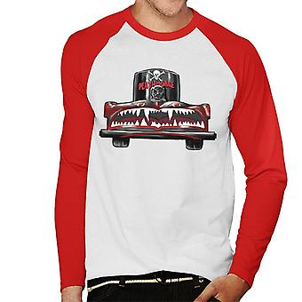 Animal House Deathmobile Men's Baseball Long Sleeved T-Shirt
