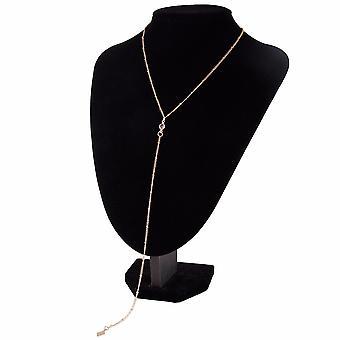 Women's Diamond Piece Pendant Clavicle Chain