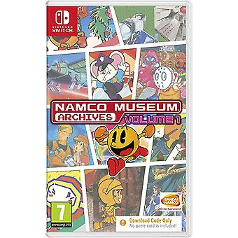 Namco Museum Archives Vol. 1 Switch Game (Code dans une boîte)
