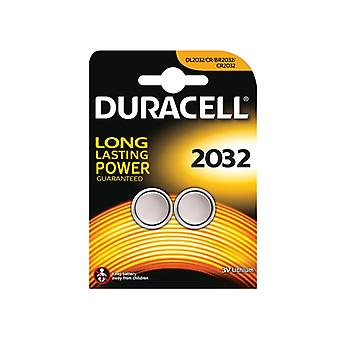 Duracell CR2032 Coin Lithium Battery (Pack 2) S5737