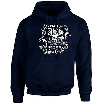 I'm a Tattooed Uncle Except Much Cooler Unisex Hoodie 10 Colours (S-5XL) by swagwear