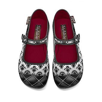 Hot Chocolate Design Gothic Lolita Mary Jane Flats