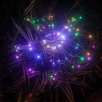 90/150 Led Solar Christmas Lights  Outdoor Waterproof Solar Fireworks Light- Lawn Lights Garden Decor Holiday Lamp