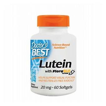 Doctors Best Lutein with FloraGLO Lutein, 20 mg, 60 Softgels