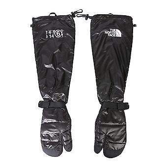 Mm6 X The North Face S62ts0033s53390900 Women's Black Nylon Gloves