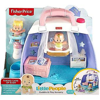 Fisher price multicolour little people babies cuddlen play nursery playsets