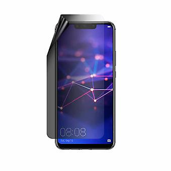 Celicious Privacy Lite 2-Way Anti-Glare Anti-Spy Filter Protector Film Compatible avec Huawei Mate 20 lite