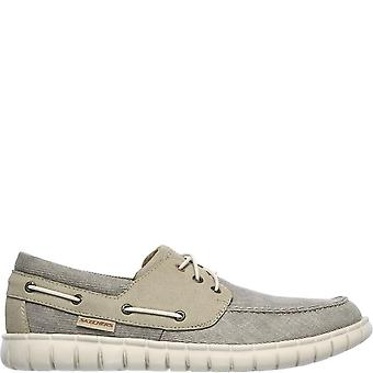 Skechers Mens Moreway Barco Boat Shoes