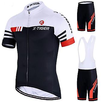 Bike Uniform Summer Cycling Jersey Set, Road Bicycle Mtb Wear Breathable