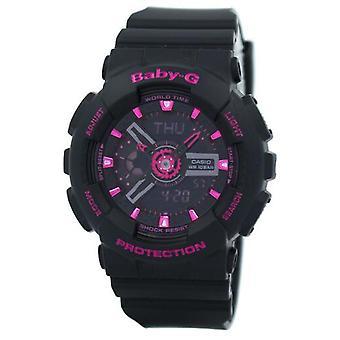 Casio Baby-g maailman aika analoginen-digitaalinen BA-111-1a Ba111-1a naisten ' s Watch