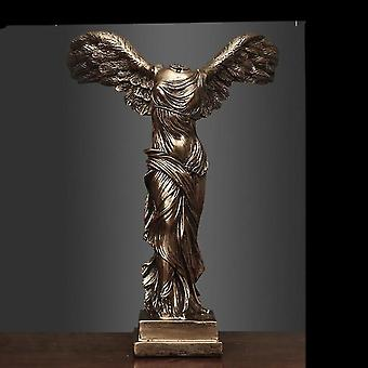 European Victory Goddess Figures Sculpture -retro Abstract Goddess Statues
