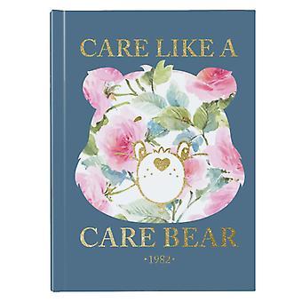 Hoitokarhut välittävät kuin Care Bear Hardback Journal