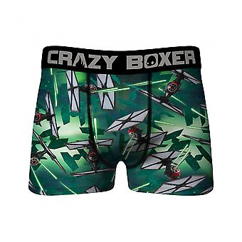 Star Wars TIE Fighter Battle All Over Men's Crazy Boxer Briefs