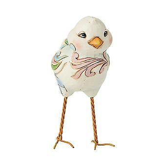 Jim Shore Heartwood Creek Standing Chick Mini Figurine