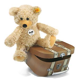 Steiff Charly Teddy Bear in suitcase