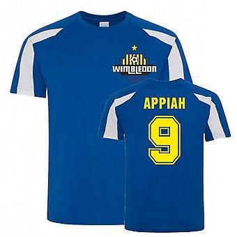 Kwesi Appiah Wimbledon Urheiluharjoittelu Jersey (sininen)