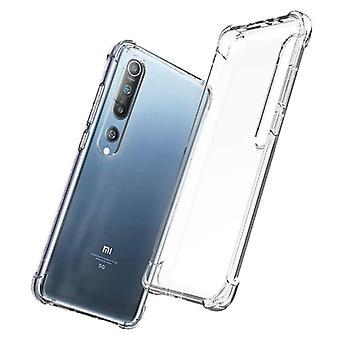 الاشياء المعتمدة® Xiaomi مي 10 برو حالة الوفير شفافة - واضح حالة تغطية سيليكون TPU المضادة للصدمة