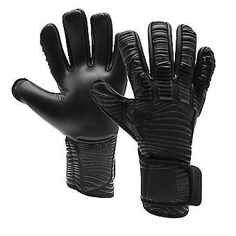 Precision Elite 2.0 Blackout Negative Adult Football Goalkeeper Glove Black