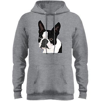 بوسطن الكلب الصوف بولوفر هودي