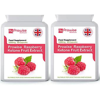 Raspberry Ketones Super Strength 60 Capsules Pack of 2